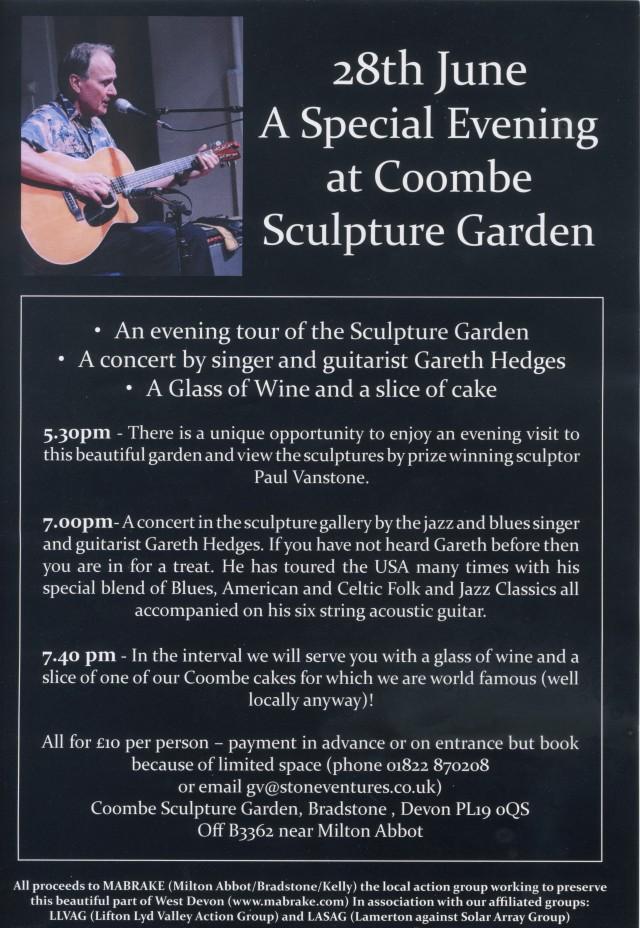 Gareth Hedges Concert 2
