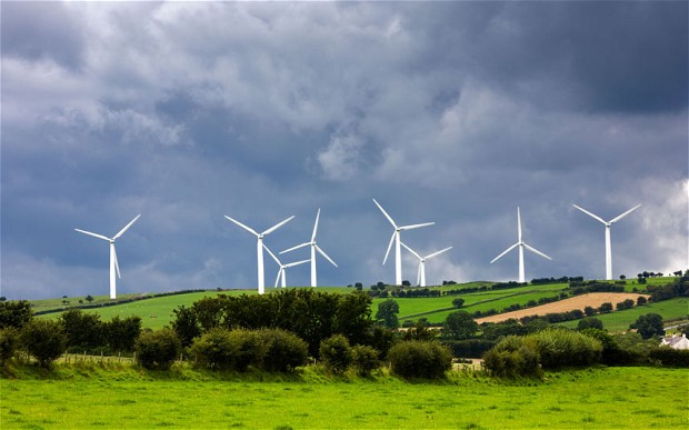 Wind Turbines in Cumbria