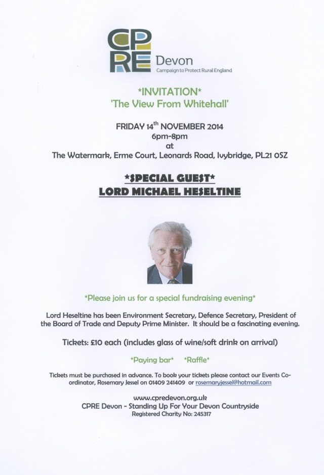 Heseltine Invite